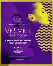 Velvet Saturdays @Tenth Avenue NY ~ MEGAJAY X MCSWISZ X BONES tickets
