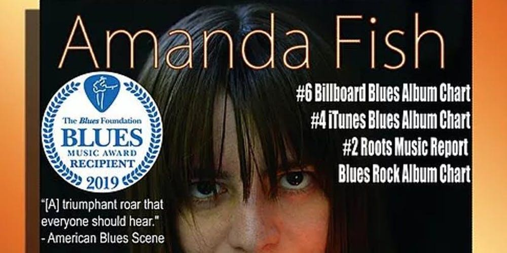 AMANDA FISH BAND~2019 Blues Music Award (BMA), Best Emerging Artist
