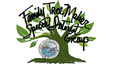 Family Tree Maker Special Interest Group, October 19, 2019