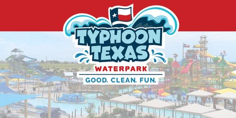 BACK TO SCHOOL CELEBRATION AT TYPHOON TEXAS - $25 tickets