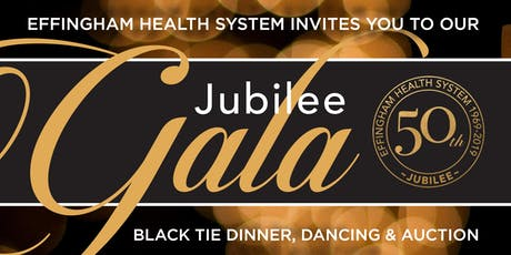 Effingham Health System's 50th Jubilee Gala tickets