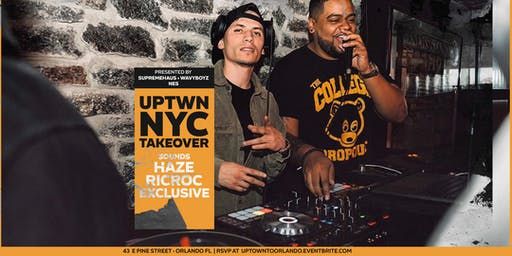 UPTWN NYC TAKE OVER | Summer Series Week 8: DJ HAZE + DJ RIC ROC