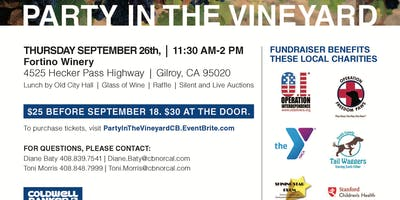 Party in the Vineyard 2019- 15th Annual