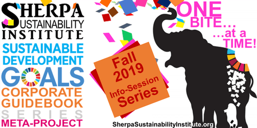 UN SDG FALL INFO-SESSION SERIES - CORPORATE GUIDEBOOK PRODUCTION