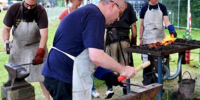 Free Blacksmithing Class at Capel Manor College Br