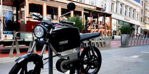 Monday Motorbikes GEN7 - San Francisco Demo Day
