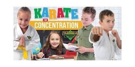 FREE Children's Karate for Concentration Beginner's Martial Arts Workshop tickets