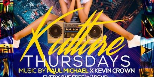 Kulture Thursdays @ Katra