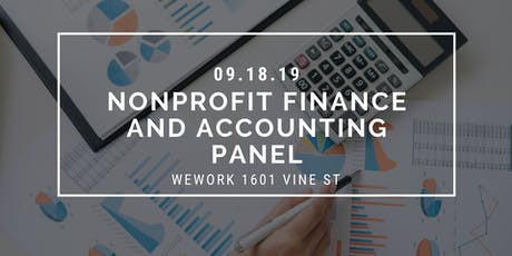 Nonprofit Finance and Accounting Panel tickets