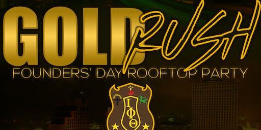 Gold Rush Rooftop Party: Memphis Alumni Iotas