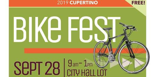 Cupertino Bike Fest 2019 Booth Volunteer
