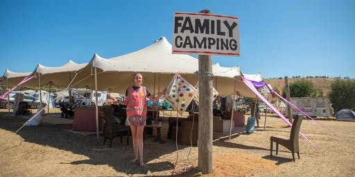 Rainbow Serpent Festival 2020 - Family Camping Registration