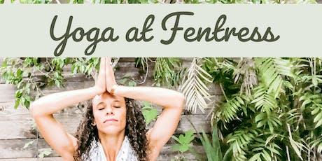 Yoga at Fentress tickets