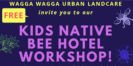 Kids Native Bee Hotel Workshop