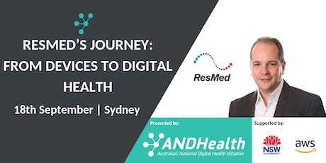 RESMED'S JOURNEY: FROM DEVICES TO DIGITAL HEALTH tickets