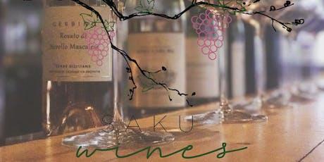 Saku Wines presents: Fall Wine Tasting tickets