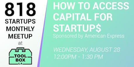 818 Startups tickets