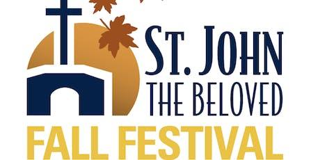 Saint John the Beloved Fall Festival 2019 tickets