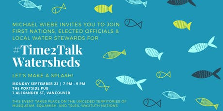 #Time2Talk Watersheds tickets