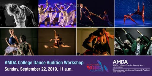 IMAA-AMDA College Dance Audition Workshop