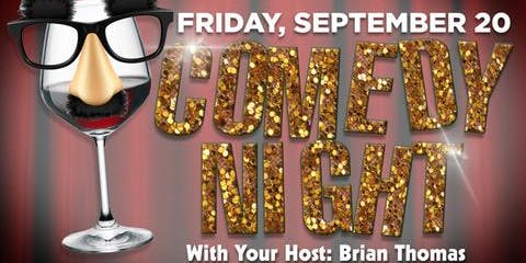 Comedy Show - Fri September 20th