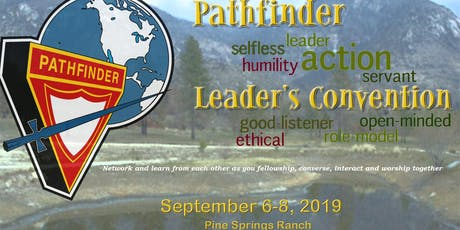 Pathfinder Leader's Convention 2019 tickets