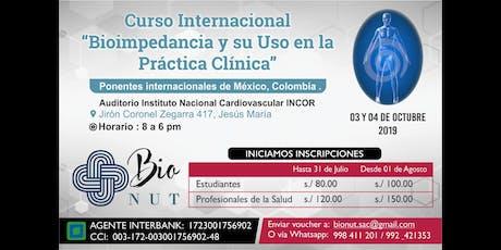 Curso Internacional de Bioimpedancia y su Uso en L entradas
