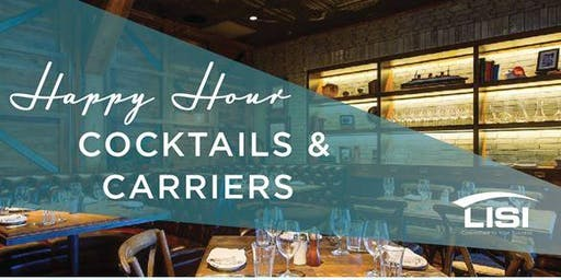 Be Our Guest for Cocktails & Carriers Happy Hour