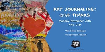 Art Journaling: Give Thanks