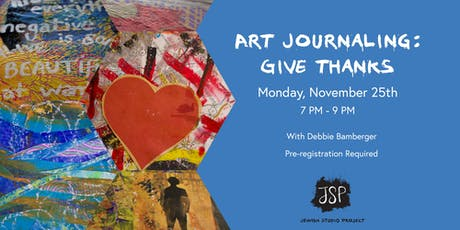Art Journaling: Give Thanks tickets
