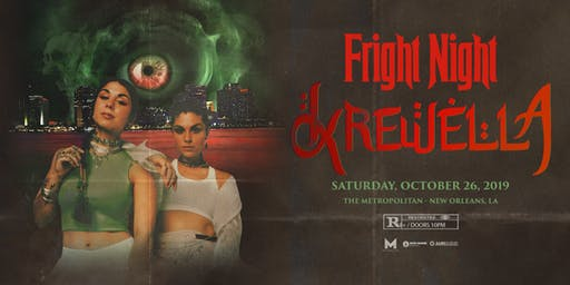 Fright Night feat. KREWELLA (Metropolitan's Annual Haunted Halloween Bash!)
