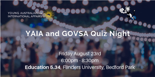 YAIA and GOVSA Quiz Night
