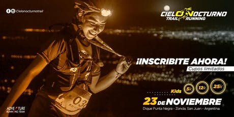 CIELO NOCTURNO TRAIL - 3° EDICION - PUNTA NEGRA entradas