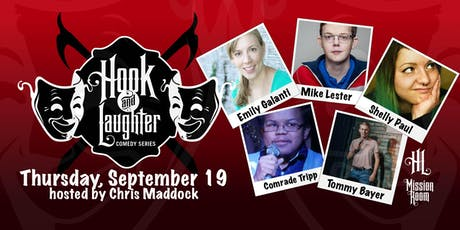 Hook & Laughter - Comedy Series tickets