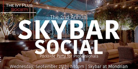 LA: The 2nd Annual Skybar Social tickets