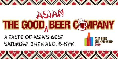 Good Beer Company - A Taste of Asian Brews tickets