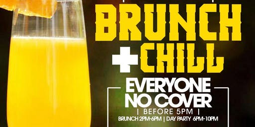 Brunch & Chill, Bottomless Brunch + Day Party + Hookah, Bdays Celebrate Free