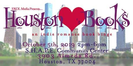 Houston Loves Books: An Indie Romance Book Binge tickets
