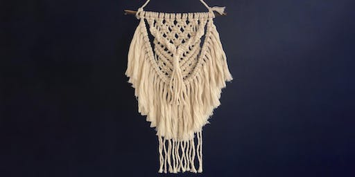 Macrame Wall Hanging with Kristy Kum Too - Axedale