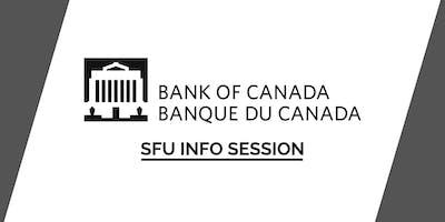 SFU Bank of Canada Info Session