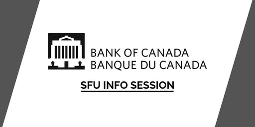 SFU Bank of Canada Info Session