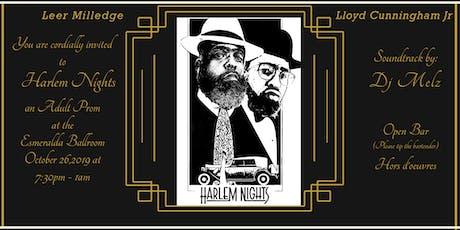 Leer and Lloyd Presents Harlem Nights an Adult Prom Scorpio Edition tickets