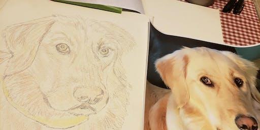 Paint Class - Paint Your Pet at Lavender Hill Farm