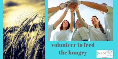 Volunteer to Sort Food as a Family
