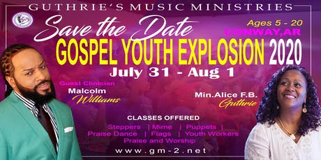 Gospel Youth Explosion 2020 tickets