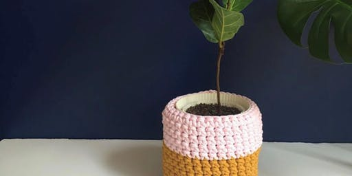 Crochet planter workshop with Kristy Kum Too - Heathcote