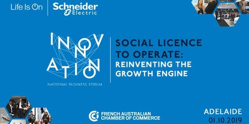 Adelaide | 2019 Schneider Electric Business Forum - Tuesday 1 October