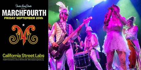 MarchFourth! A musical extravaganza and dance party in Downtown Redding tickets