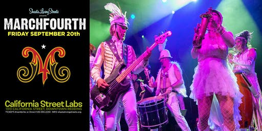 MarchFourth! A musical extravaganza and dance party in Downtown Redding