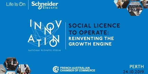 Perth | 2019 Schneider Electric Business Forum - Thursday 24 October